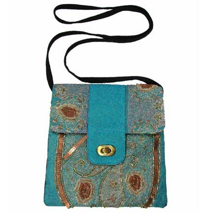 Upcycled Sarees, Small Purses, Handbag, Handmade, Eco Friendly, Fair Trade