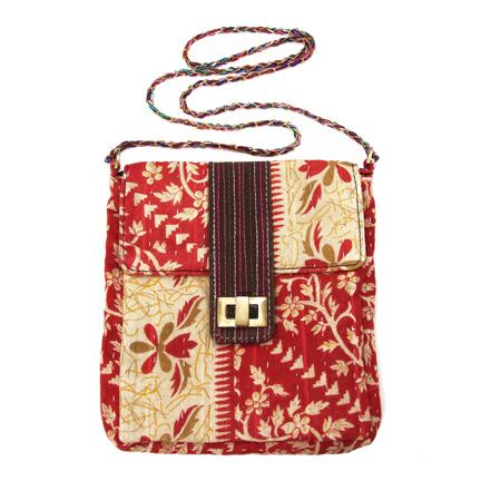 Upcycled Kantha, Small Purses, Handbag, Handmade, Eco Friendly, Fair Trade
