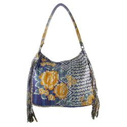 Upcycled Kantha, Large Purse, Handbag, Handmade, Eco Friendly, Fair Trade