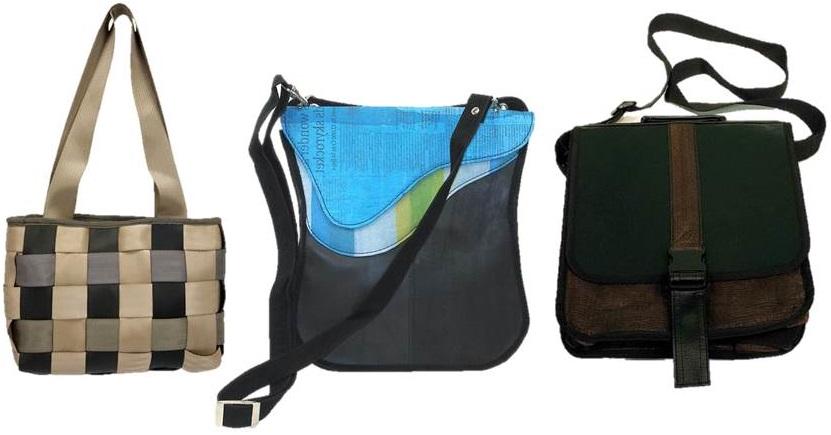 Upcycled Handbags Worldwide Plant/Vital Aid Boomerang Impact!