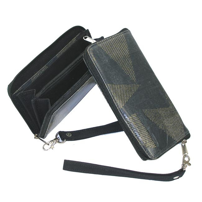 Fair Trade, Eco Friendly, Handmade in India, Wristlet