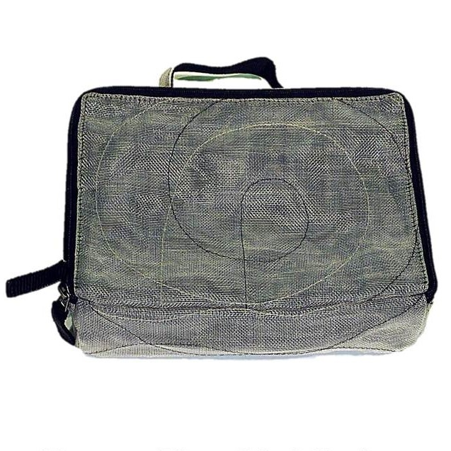 Upcycled Fish & Construction Netting, Travel Organizer Bags, Handmade, Eco Friendly, Fair Trade