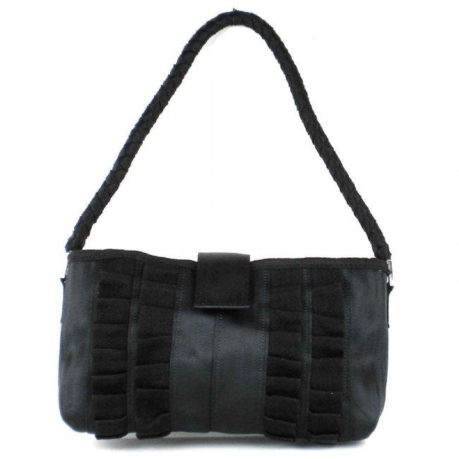 Upcycled Seat Belts, Small Purse, Handbag, Handmade, Eco Friendly, Fair Trade