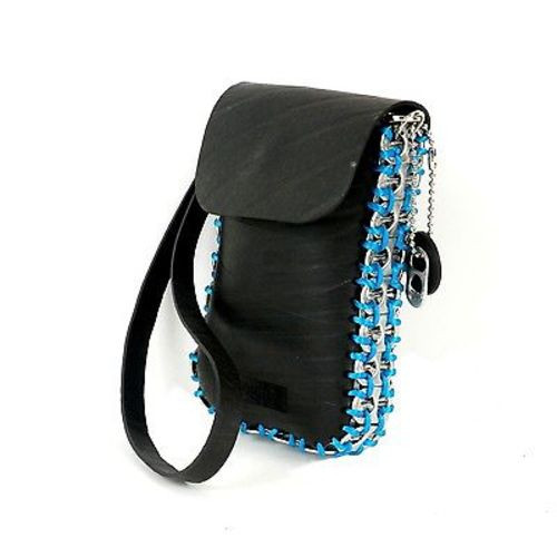 Upcycled Pop Tops & Tire Tubes, Cell Phone Purses, Handbag, Handmade, Eco Friendly, Fair Trade