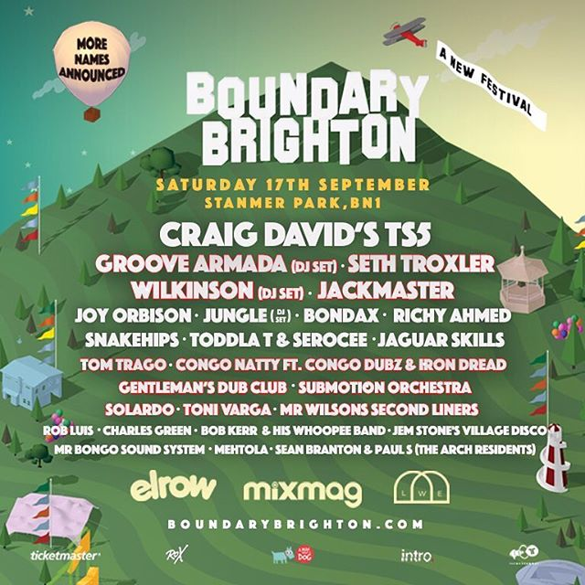 Just been announced as part of @boundarybtn - looking for heading back to Brighton