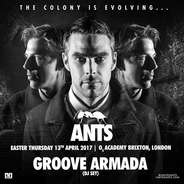 Ready to return to O2 Academy Brixton tonight! Still some tickets on the door, you don't wanna miss this #unitedants🐜 #BrixtonAcademy #london #groovearmadathing #eatseverything