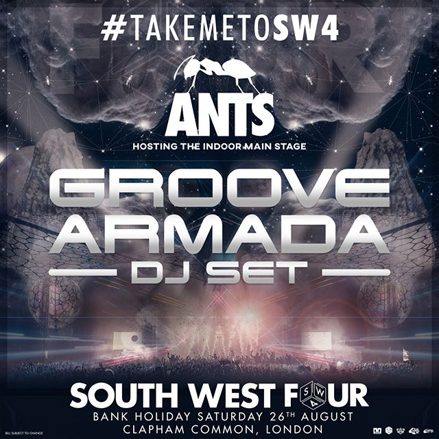 Excited to be heading to #SW4 this summer alongside the #UnitedAnts colony!