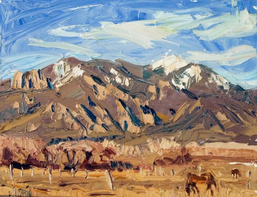 Taos Mountain - horse calling