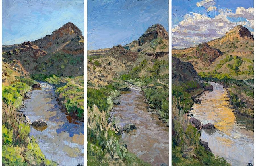 Rio Grande triptych