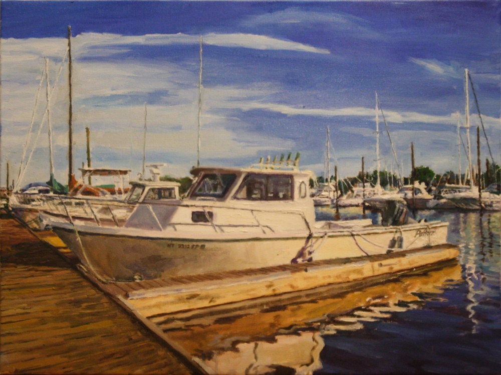 Harbor boat