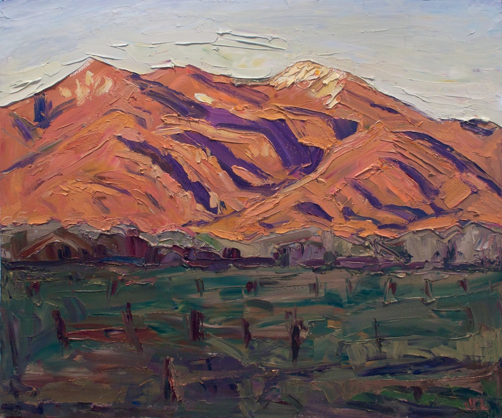 Taos Mountain - exhale with the last light
