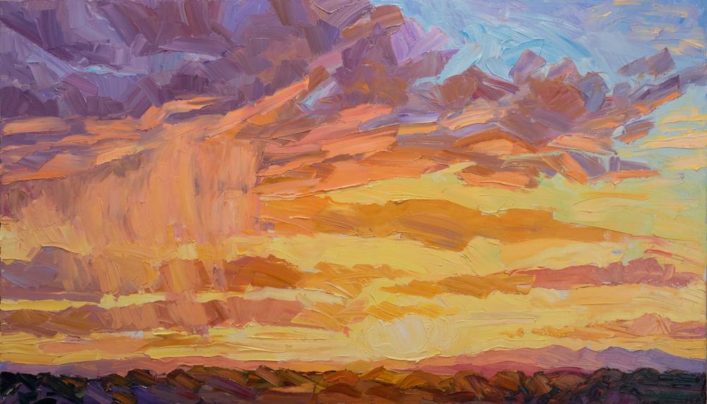 Santa Fe Sunset #1