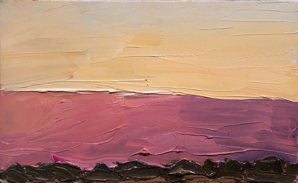 Pink ridge