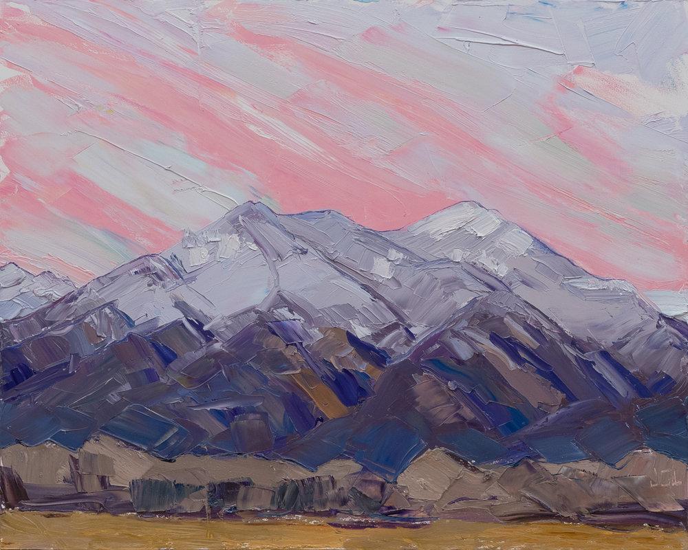 Taos Mountain - after sunset