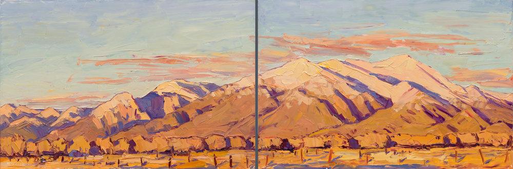 Sunset in Taos