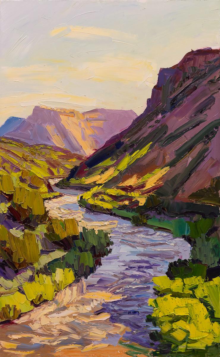 River bends - morning light