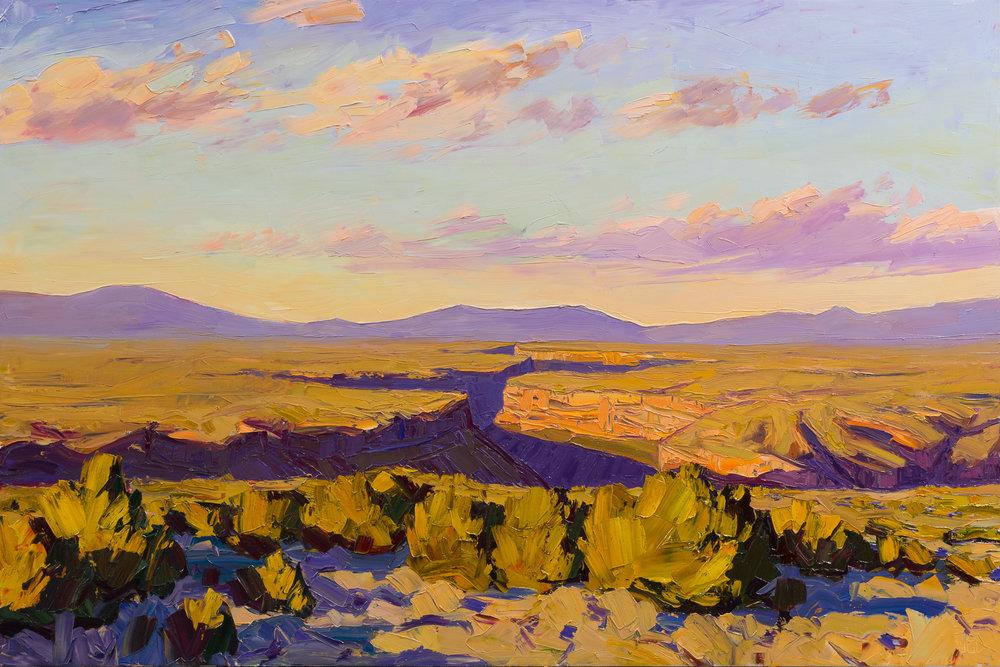 Taos #4 - towards sunset