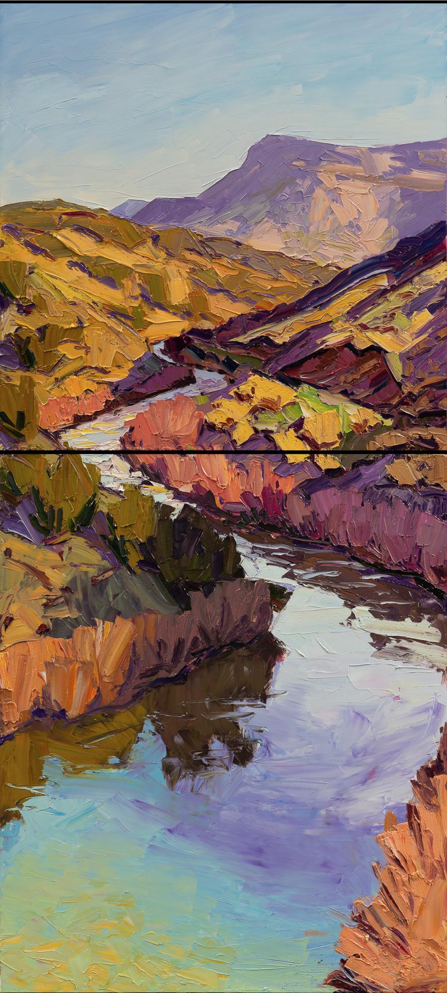 River bends - colores de la madrugada