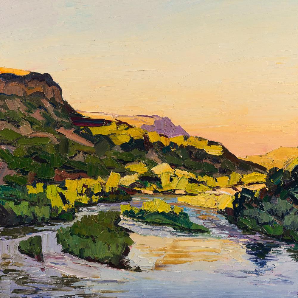 Sunrise river bend