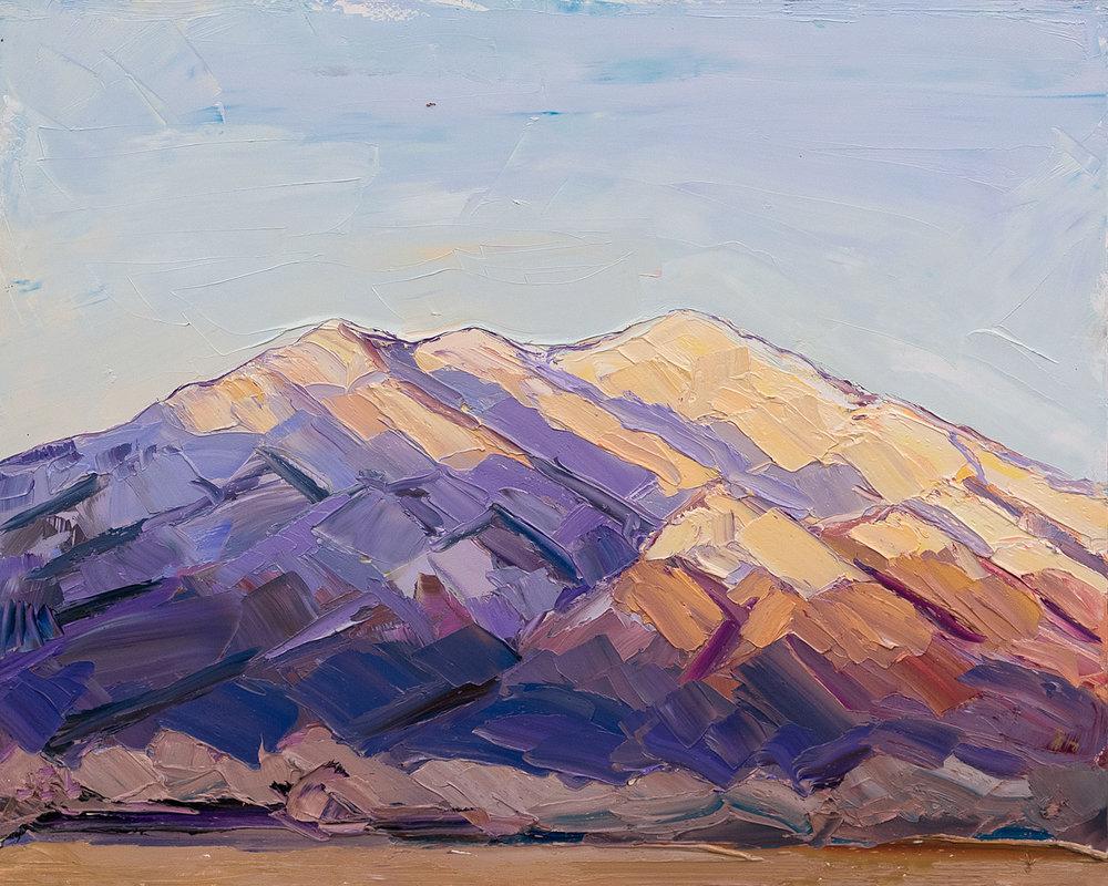 Taos Mountain - day's end