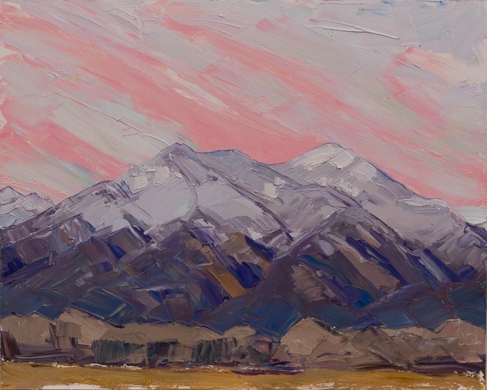 Taos Mountain - dusk