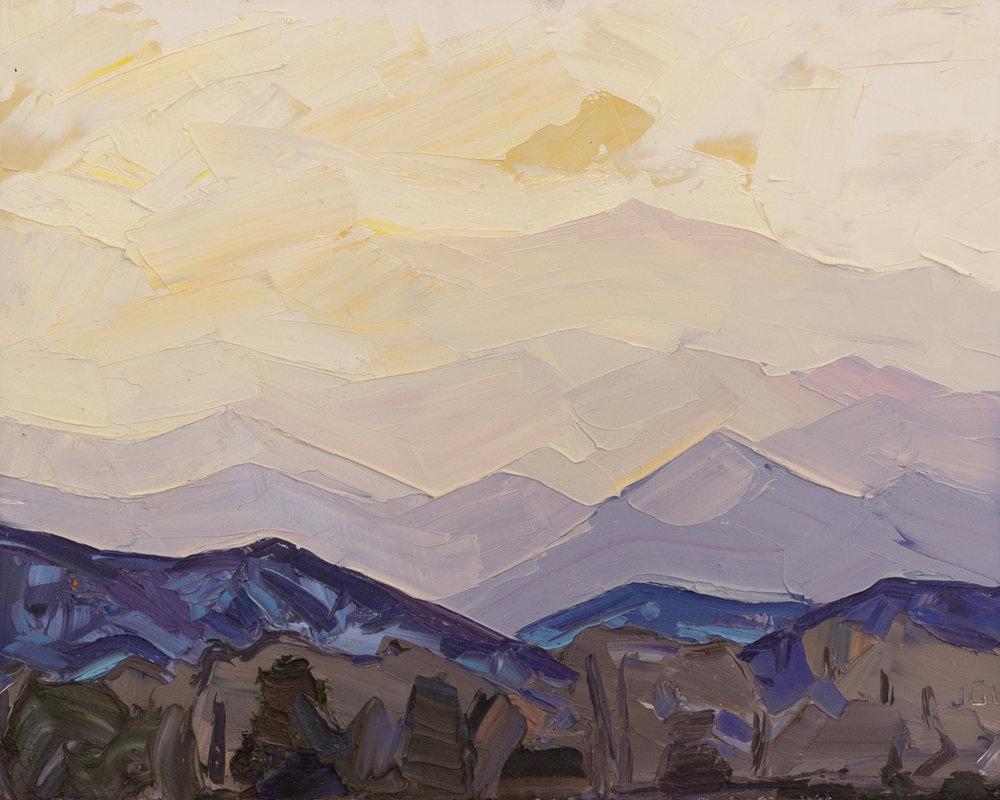 Picuris Peak - storm light