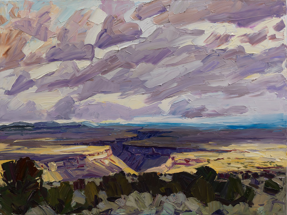 Taos #2 - cold storm ending