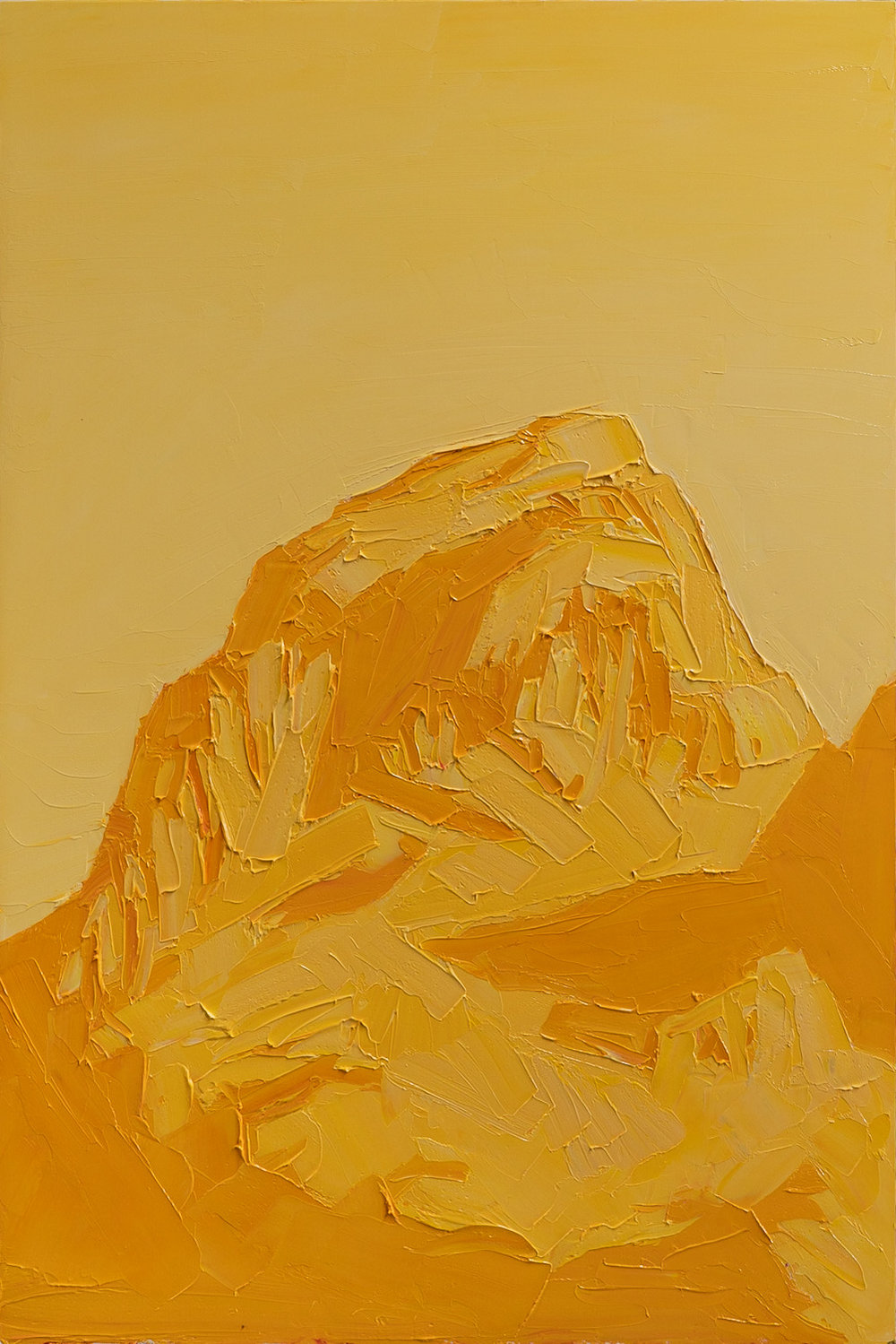 Grand Teton - ROYGBIV - Yellow