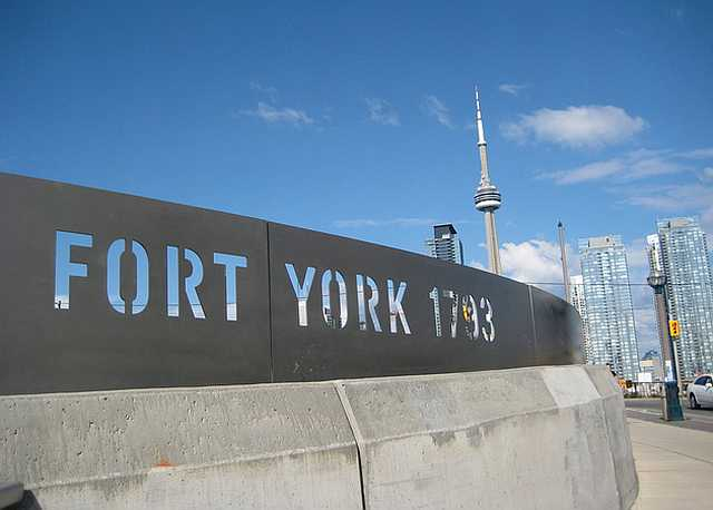 Fort York - Fort York Boulevard and Bathurst Street