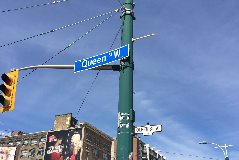 Queen Street West - Queen Street West and Bathurst Street