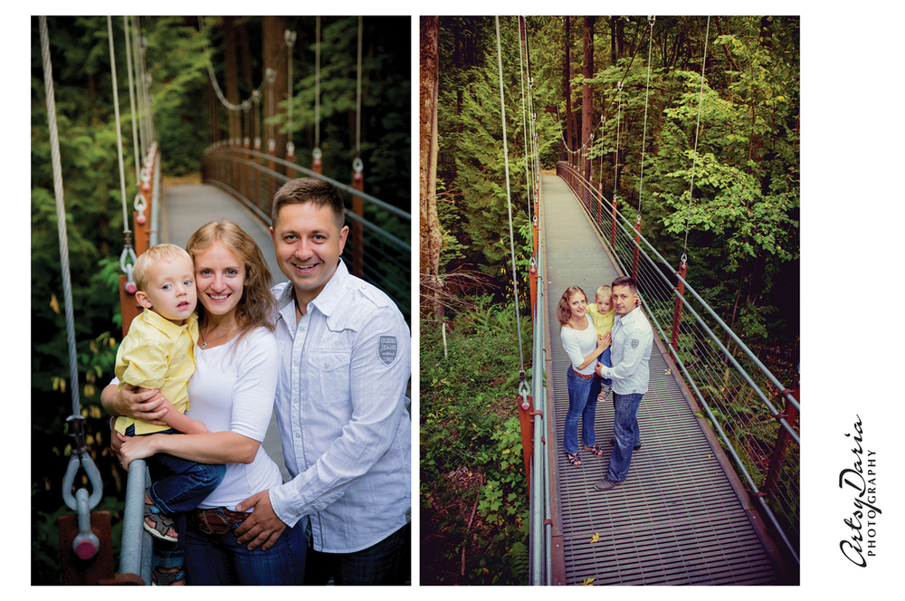 Bellevue Botanical Garden Family Session 5