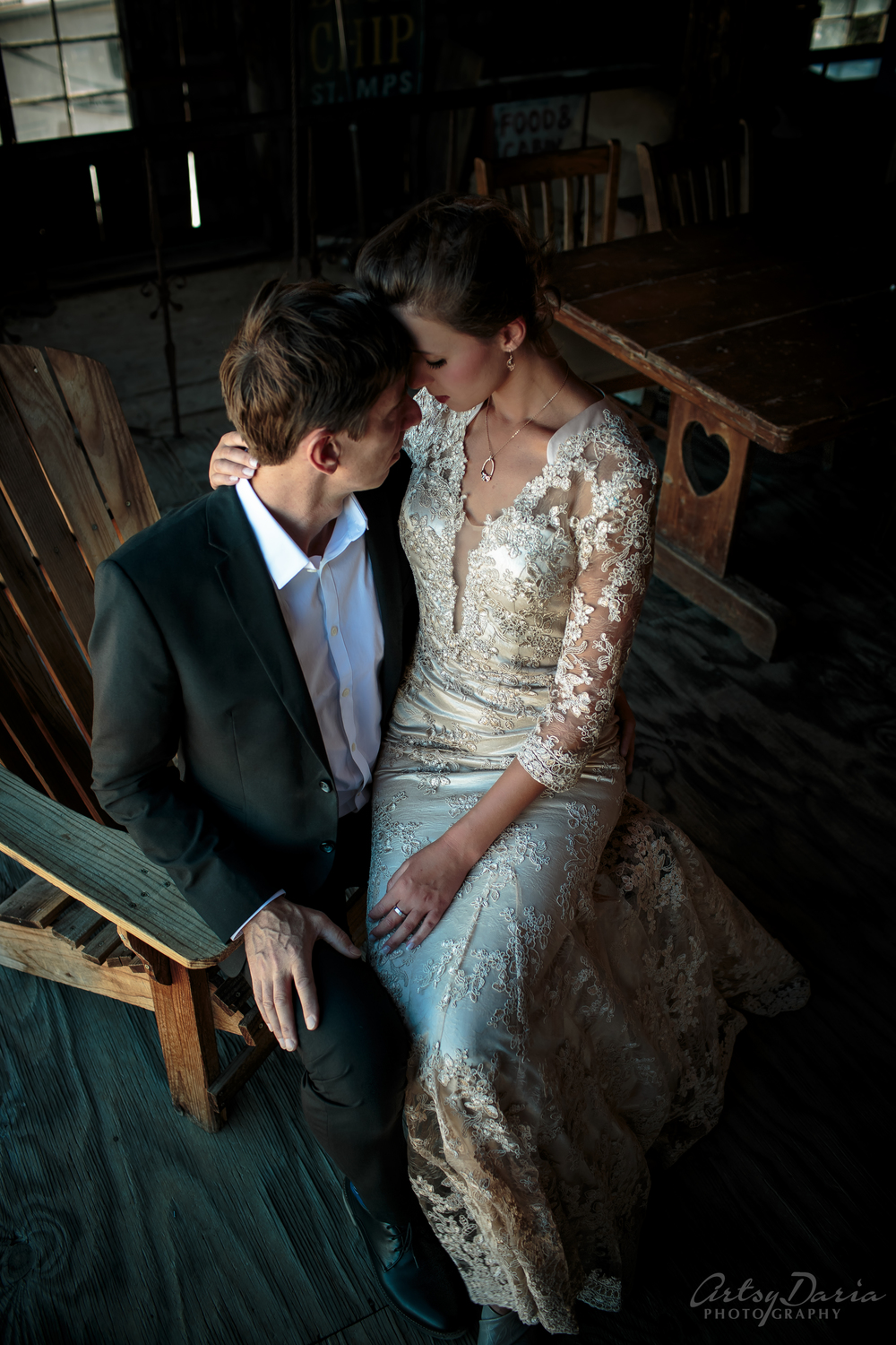 Eldorado Ghost Town wedding