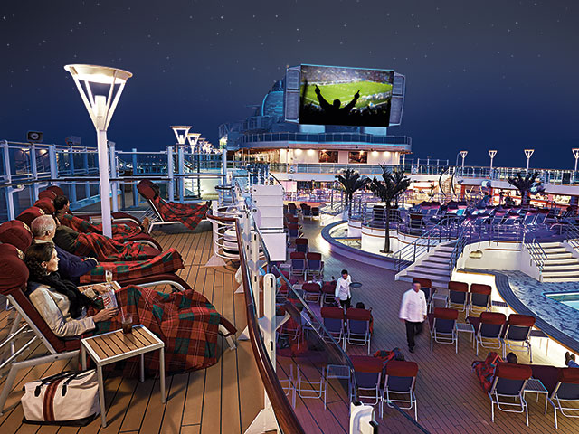 Image supplied by Princes Cruises.