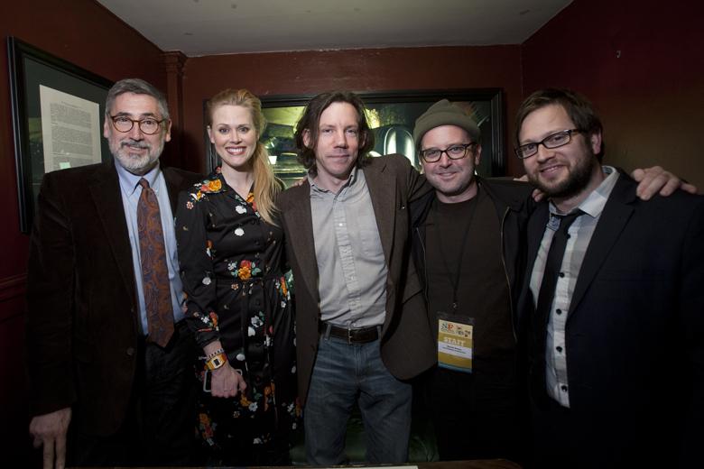John Landis, Janet Varney, Carl Arnheiter and David Owen. Photo by Tommy Lau.