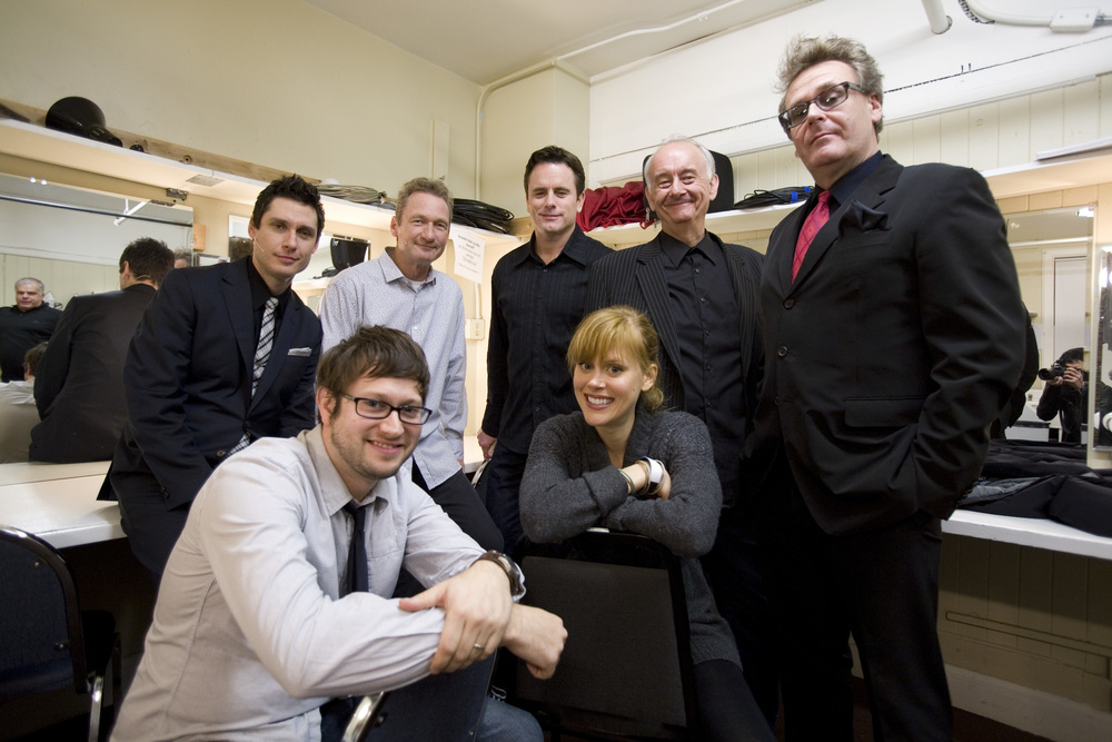 Jeff B. Davis, Ryan Stiles, Chip Esten, Bob Dirkach, Greg Proops and Janet Varney