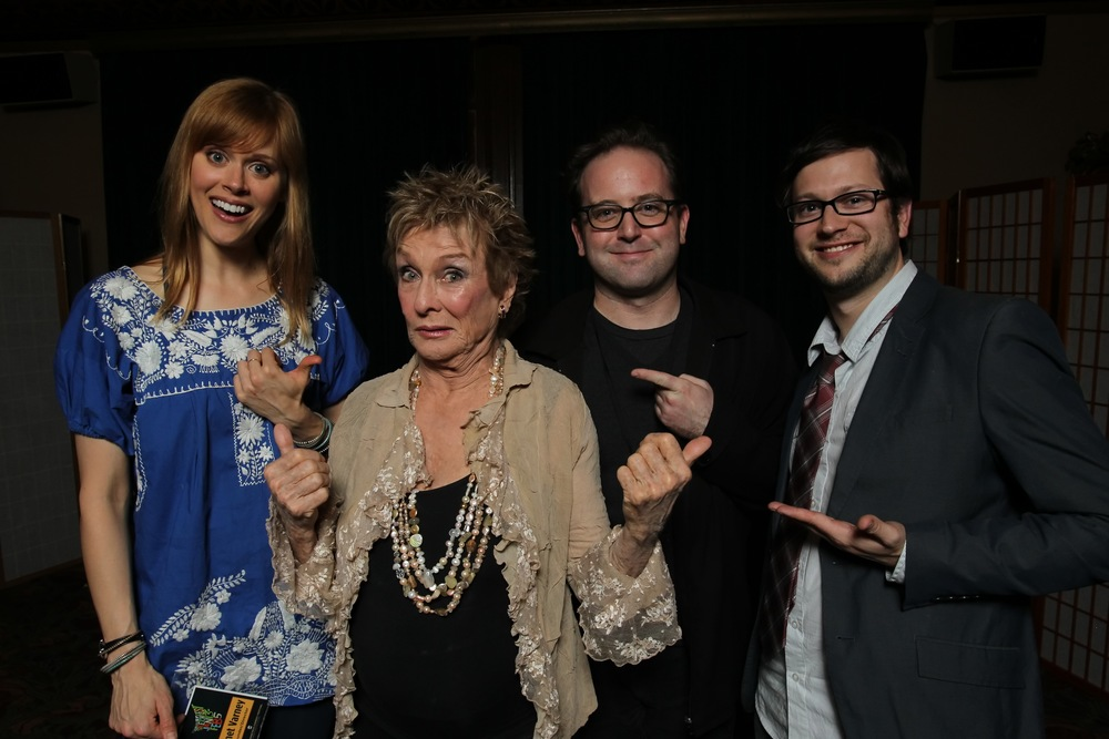 Janet Varney, Cloris Leachman and David Owen. Photo by Jakub Mosur.
