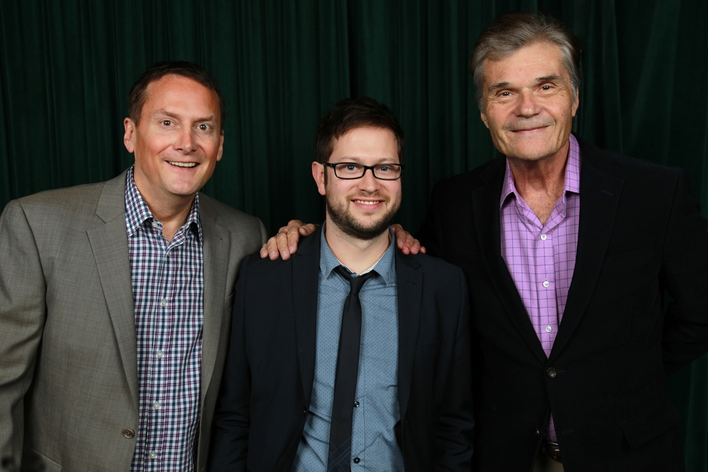 Michael Hitchcock and Fred Willard