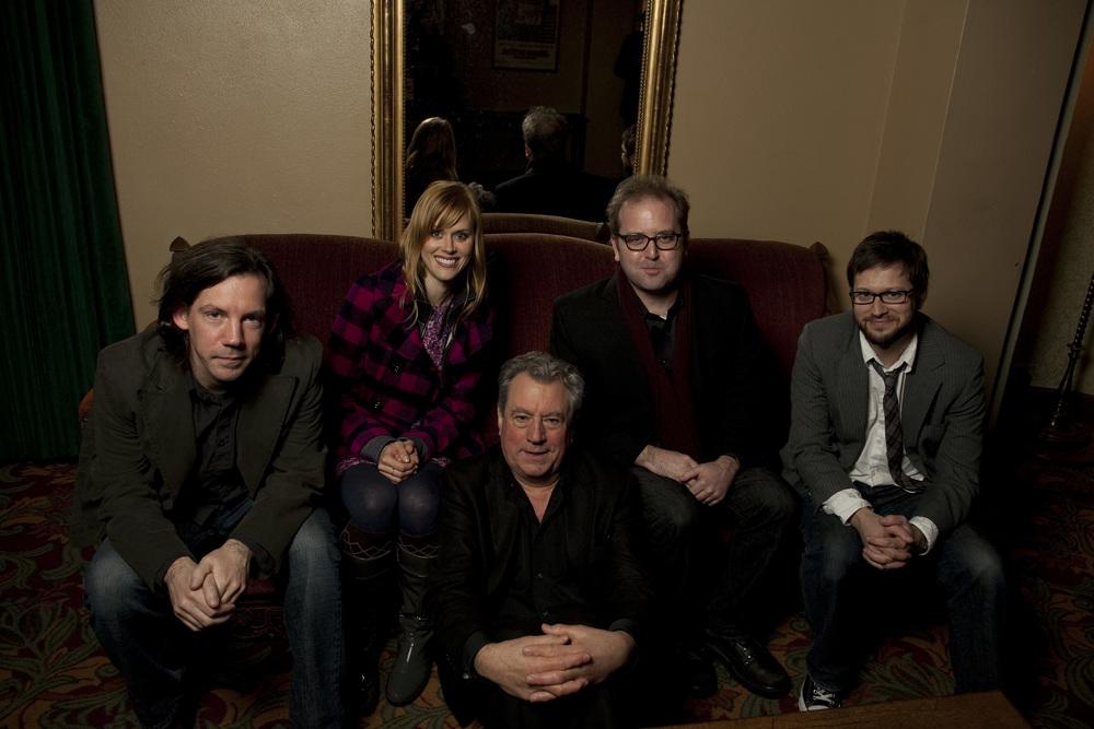 Carl Arnheiter, Janet Varney, Terry Jones and David Owen. Photo by Jakub Mosur.