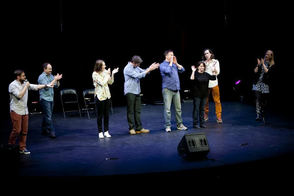 Theme Park with Cole Stratton, Kevin Pollak, Jessica Makinson, John Michael Higgins, Michael Hitchcock, Ian Brennan and Janet Varney at SF Sketchfest