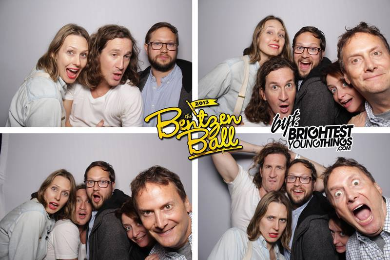 Theme Park (Jessica Makinson, Ian Brennan, Cole Stratton, Rachel Dratch and Michael Hitchcock) at Bentzen Ball