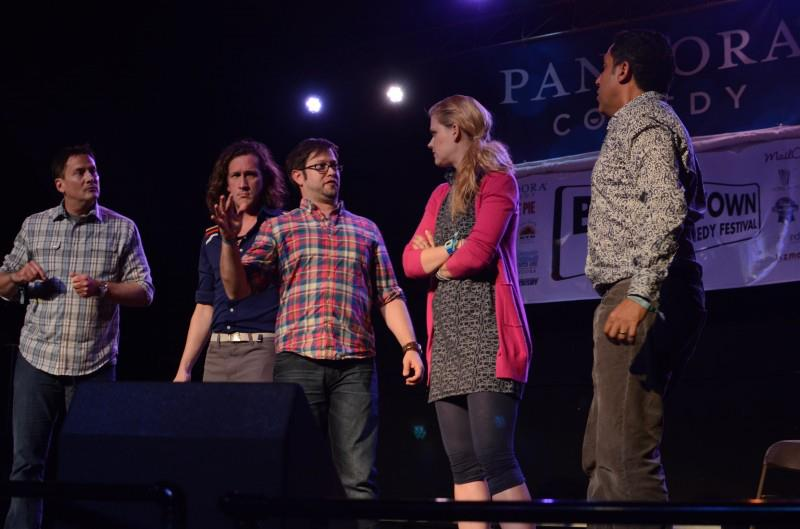 Theme Park with Michael Hitchcock, Jessica Makinson, Cole Stratton, Janet Varney and Oscar Nunez at Bridgetown Comedy Festival