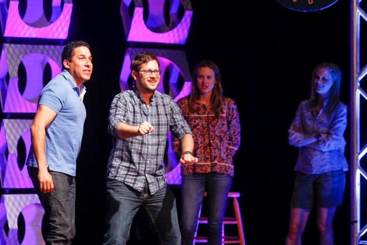 Theme Park with Oscar Nunez, Cole Stratton, Jessica Makinson and Janet Varney at Moontower Comedy Festival