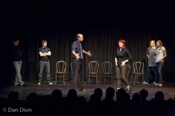 Theme Park with Oscar Nunez, Cole Stratton, Scott Adsit, Kate Flannery, Janet Varney and Jessica Makinson at SF Sketchfest