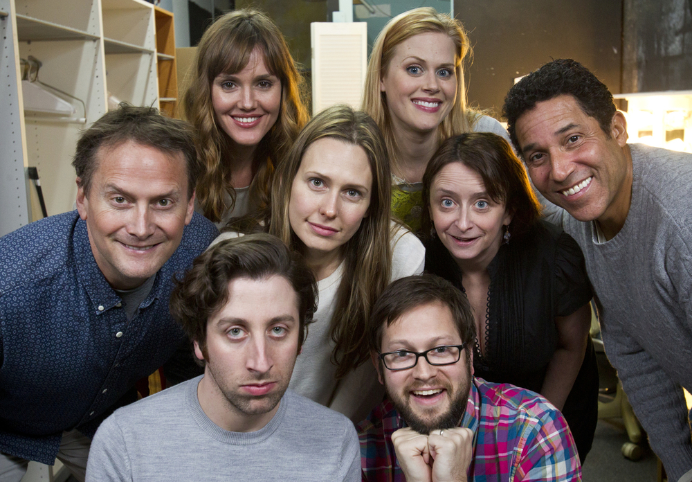 Theme Park with Michael Hitchcock, Erinn Hayes, Simon Helberg, Jessica Makinson, Janet Varney, Rachel Dratch, Cole Stratton and Oscar Nunez at SF Sketchfest