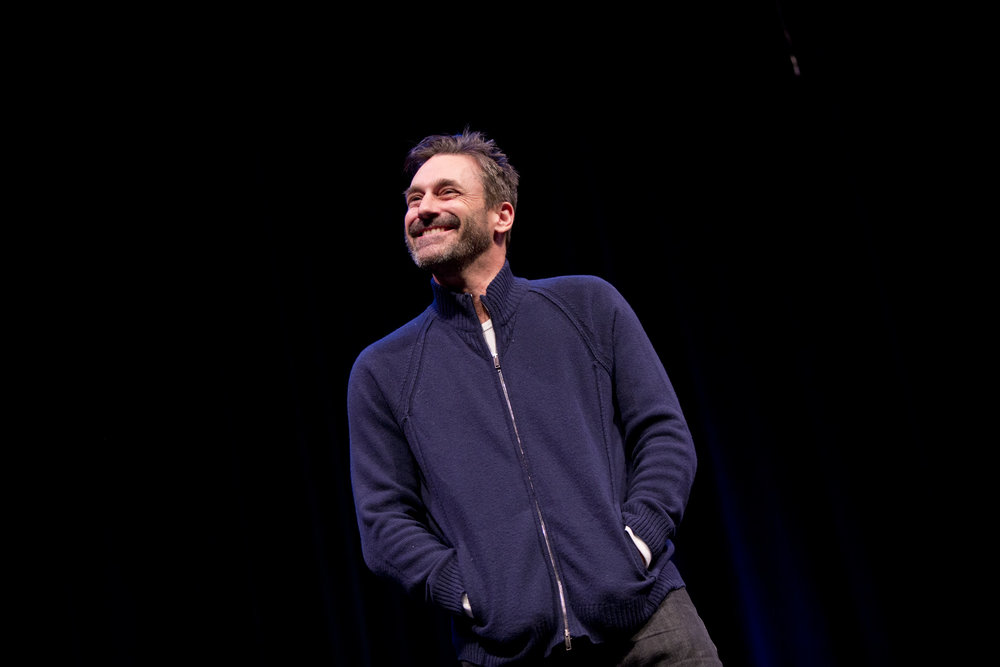 Jon Hamm at Theme Park Improv 2017 at SF Sketchfest. Photo by Tommy Lau.