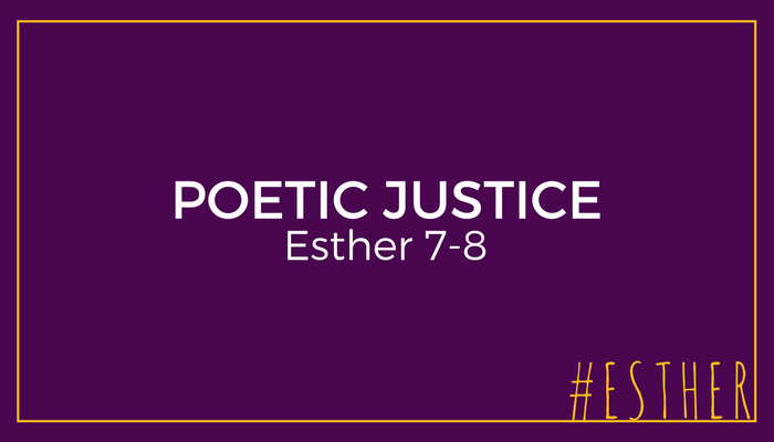 Esther finally shares her request with Xerxes, and Haman gets poetic justice in return for his wicked schemes. Pastor Pilgrim Benham teaches on wrath, vengeance, and the value of good communication from Esther 7-8.