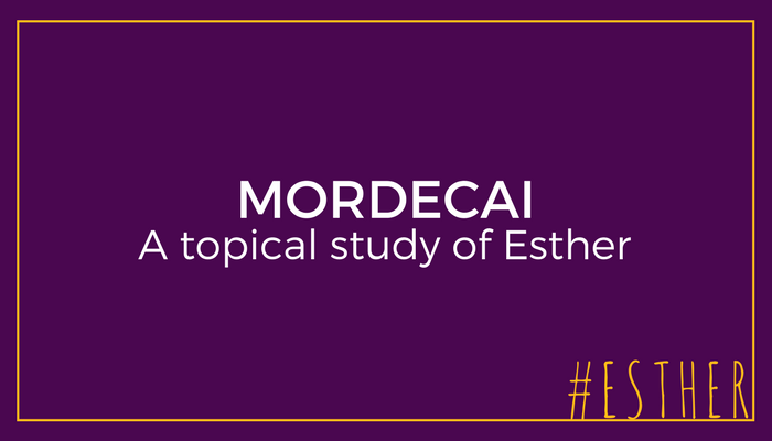 At first glance, Mordecai (and Esther) appear to be perfect. Is that true? A closer look reveals the Mordecai's character flaws, and a lesson all of us (and particularly men) can learn. Pastor Pilgrim Benham teaches a topical study through the book of Esther on Father's Day.