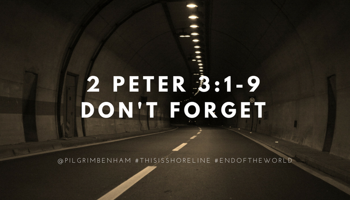 One of the marks of the last days is that many scoffers will rise up and say that Jesus isn't coming again. Pastor Pilgrim Benham teaches from 2 Peter 3 in part 1 of 2 teachings on the Second Coming of Jesus at Shoreline Church.