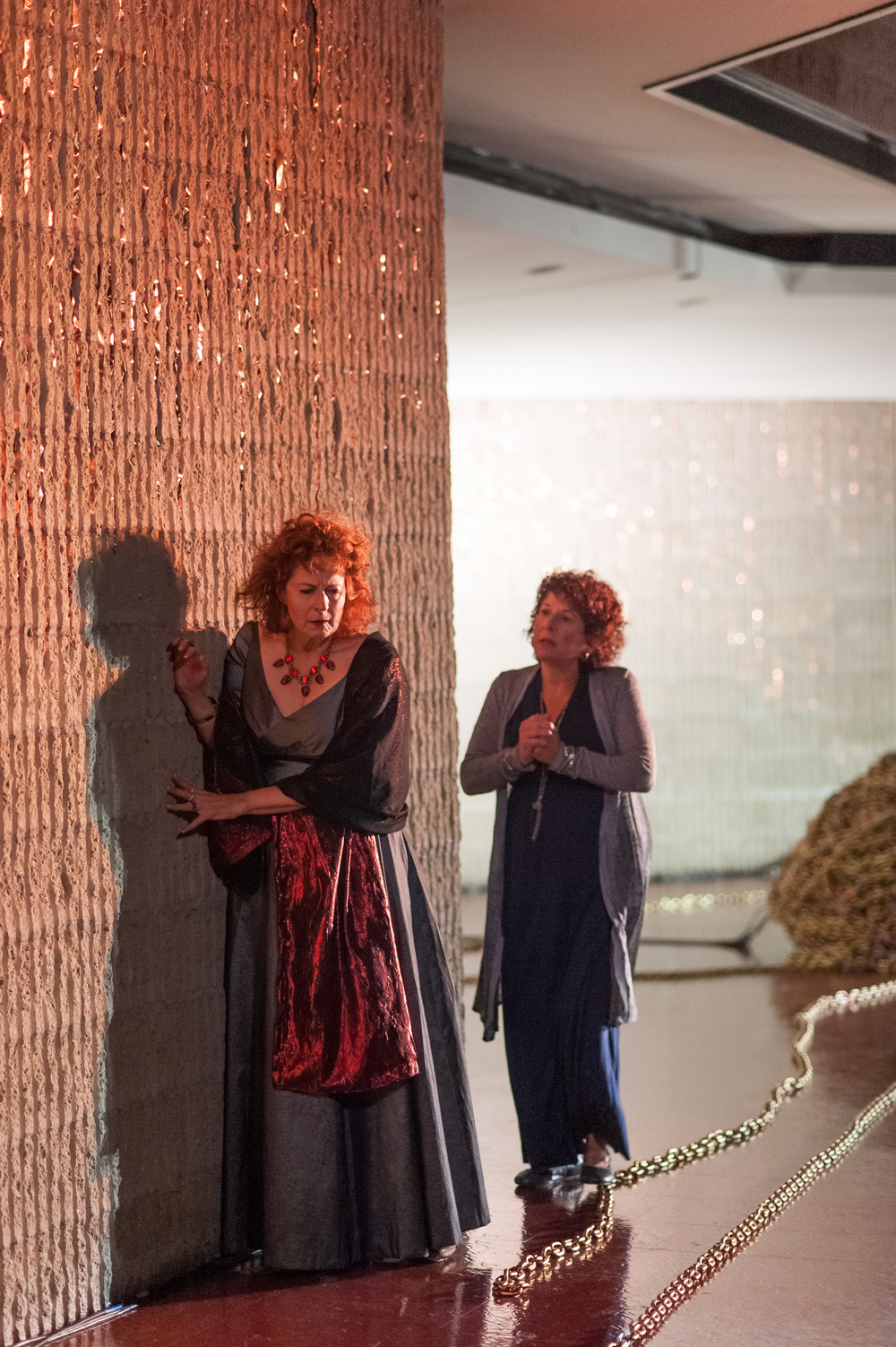 Paula Plum and Bobbie Steinbach in  Phèdre . Photo: Stratton McCrady