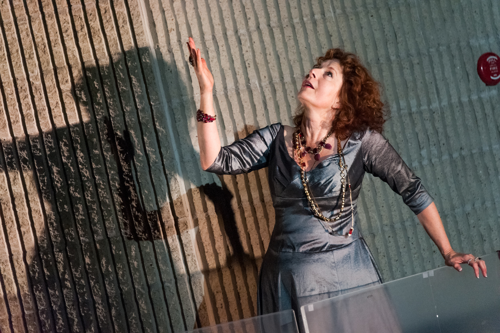 Paula Plum in  Phèdre . Photo: Stratton McCrady